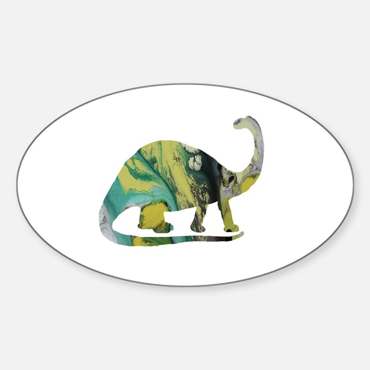 Cute Brontosaurus Decal