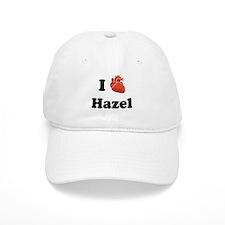 I (Heart) Hazel Baseball Cap