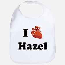I (Heart) Hazel Bib