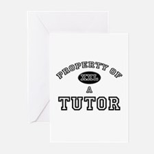 Property of a Tutor Greeting Cards (Pk of 10)