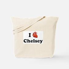 I (Heart) Chelsey Tote Bag