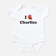 I (Heart) Charlize Infant Bodysuit