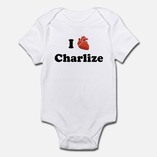I (Heart) Charlize Infant Bodysuit