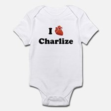 I (Heart) Charlize Onesie