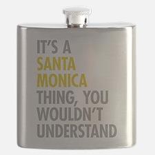 Its A Santa Monica Thing Flask