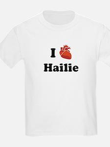 I (Heart) Hailie T-Shirt