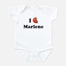 I (Heart) Marlene Infant Bodysuit