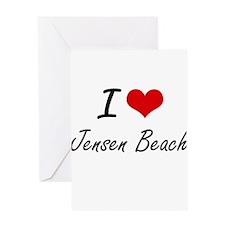 I love Jensen Beach Florida artist Greeting Cards