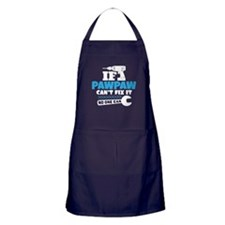 If Pawpaw Can't Fix It No One Can Apron (dark)