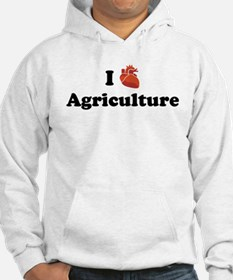 I (Heart) Agriculture Hoodie