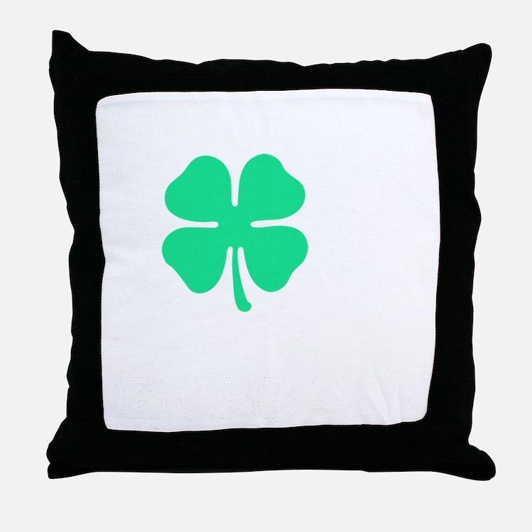 Cute Bubba Throw Pillow