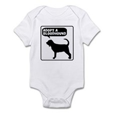 Adopt a Bloodhound Infant Bodysuit