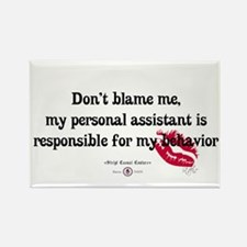 Don't Blame Me! Rectangle Magnet