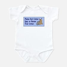 Don't Litter! Infant Bodysuit