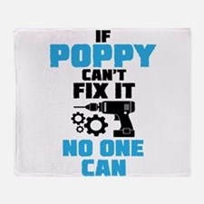 If Poppy Can't Fix It No One Can Throw Blanket