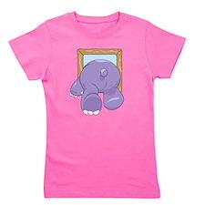 Cute Hippo Girl's Tee
