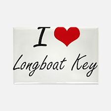 I love Longboat Key Florida artistic desi Magnets