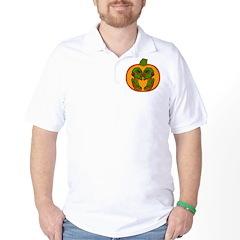Halloween Aliens Golf Shirt