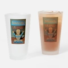LAMBRETTA DEALER Drinking Glass