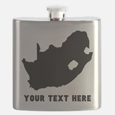South Africa Silhouette (Custom) Flask