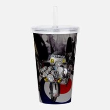 GS SCOOTER MOD Acrylic Double-wall Tumbler