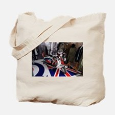 JIMMY'S SCOOTER. MOD Tote Bag