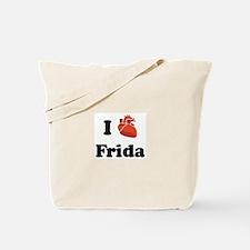 I (Heart) Frida Tote Bag