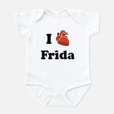 I (Heart) Frida Infant Bodysuit