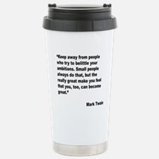 Cute Quotation Travel Mug