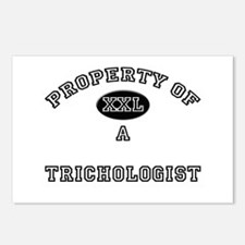 Property of a Trichologist Postcards (Package of 8