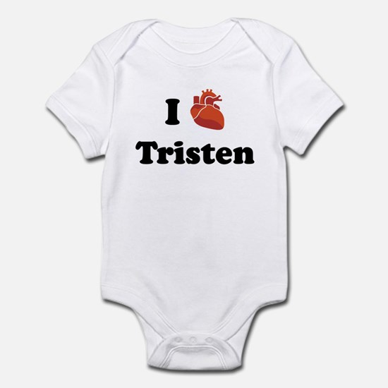 I (Heart) Tristen Infant Bodysuit