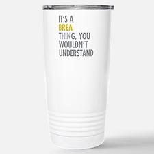 Brea Thing Stainless Steel Travel Mug