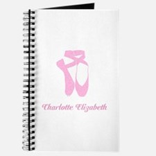 Team Pointe Ballet Candy Curls Personalize Journal