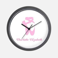 Team Pointe Ballet Candy Curls Personal Wall Clock