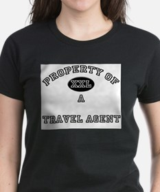 Property of a Travel Agent Tee