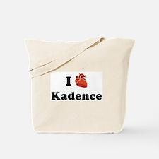 I (Heart) Kadence Tote Bag