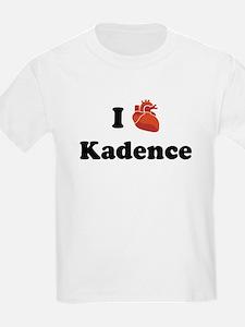 I (Heart) Kadence T-Shirt