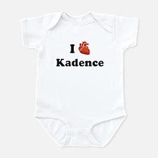 I (Heart) Kadence Infant Bodysuit