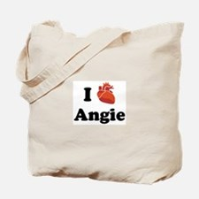 I (Heart) Angie Tote Bag