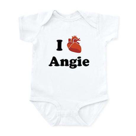 I (Heart) Angie Infant Bodysuit