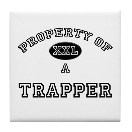 Property of a Trapper Tile Coaster