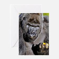 Cool Gorillas Greeting Card