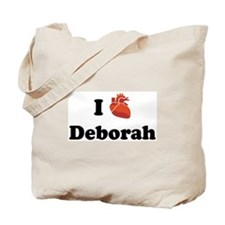 I (Heart) Deborah Tote Bag