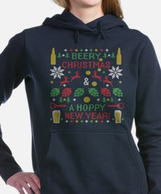 Beer Christmas Hoppy New Year Ugly Christmas Sweat