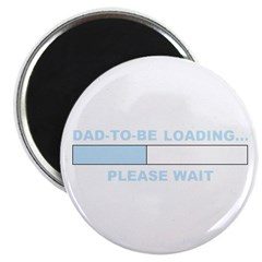DAD-TO-BE LOADING... Magnet