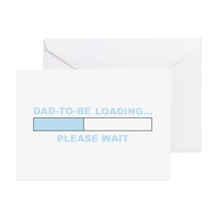 DAD-TO-BE LOADING... Greeting Cards (Pk of 20)