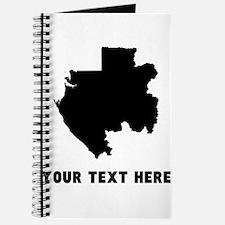 Gabon Silhouette (Custom) Journal