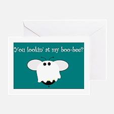 BOO-BEE HUMOR Greeting Card