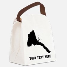 Eritrea Silhouette (Custom) Canvas Lunch Bag