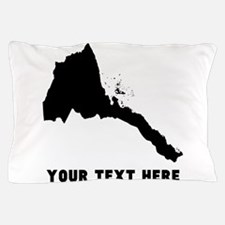 Eritrea Silhouette (Custom) Pillow Case